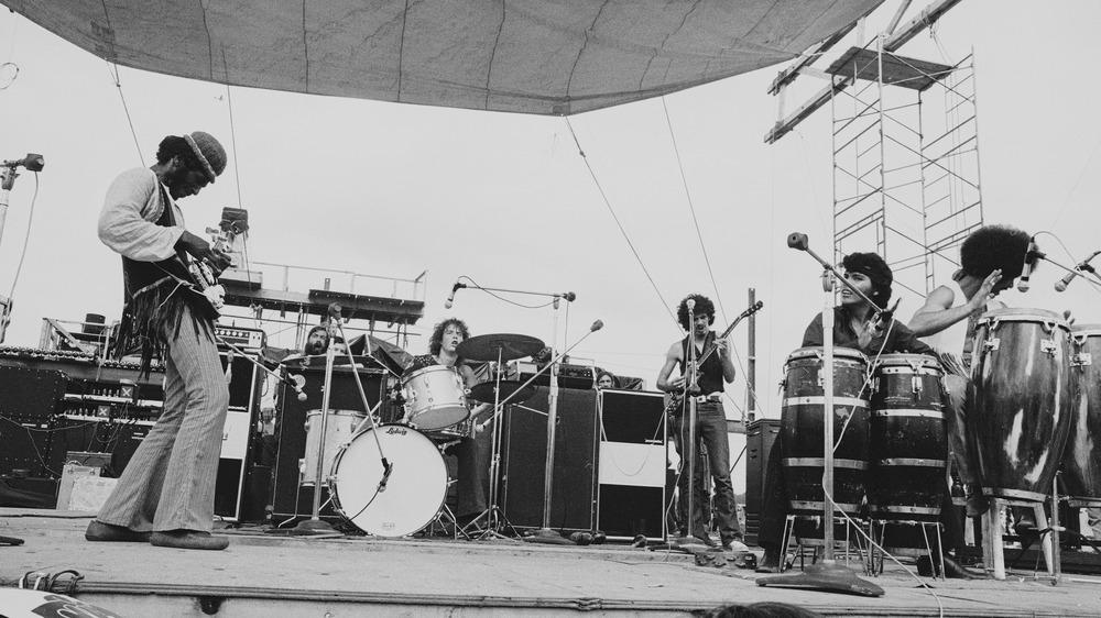 Satana playing 1969 Woodstock festival