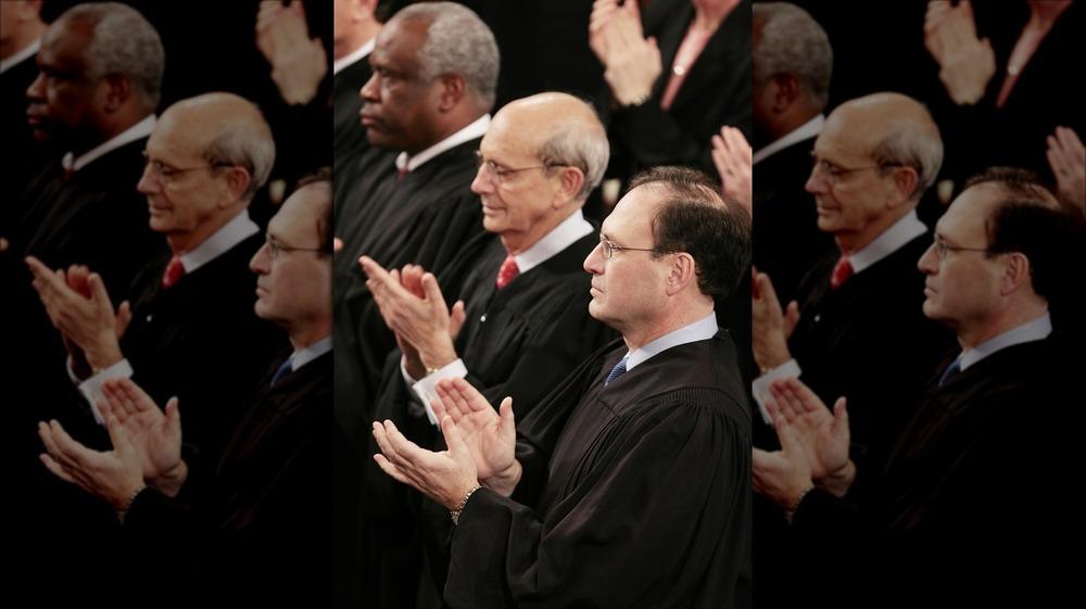 Supreme Court Justices Breyer, Thomas, Alito