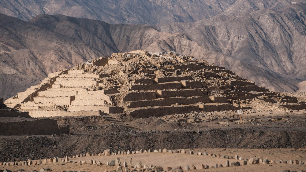 Caral, where the Norte Chico lived