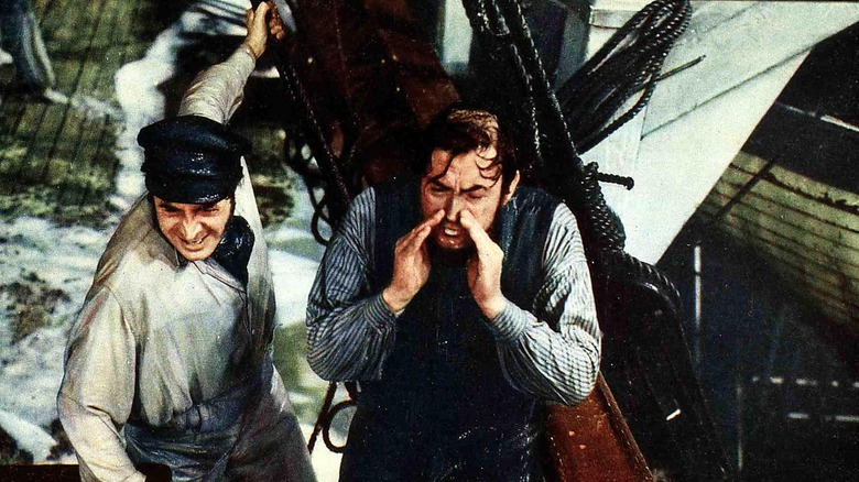 Gregory Peck as Ahab, 'Moby Dick'