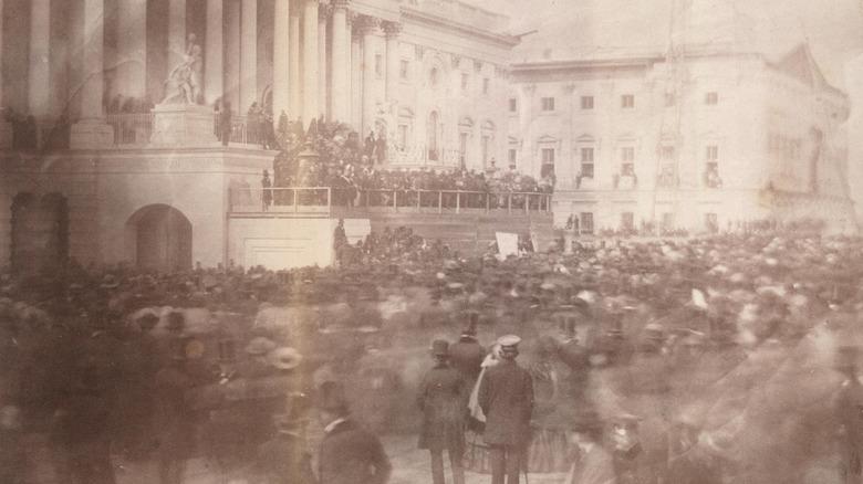 James Buchanan's Presidential Inauguration