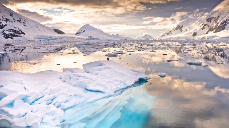 Antarctica and clouds