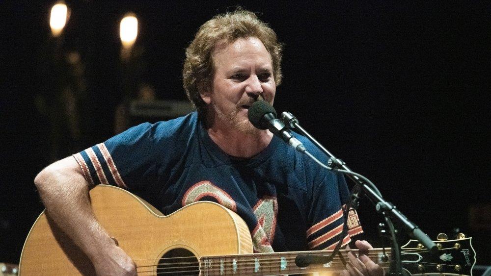 Eddie Vedder performs in Berlin in 2019