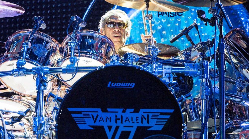 Van Halen drummer, Alex Van Halen, rock band