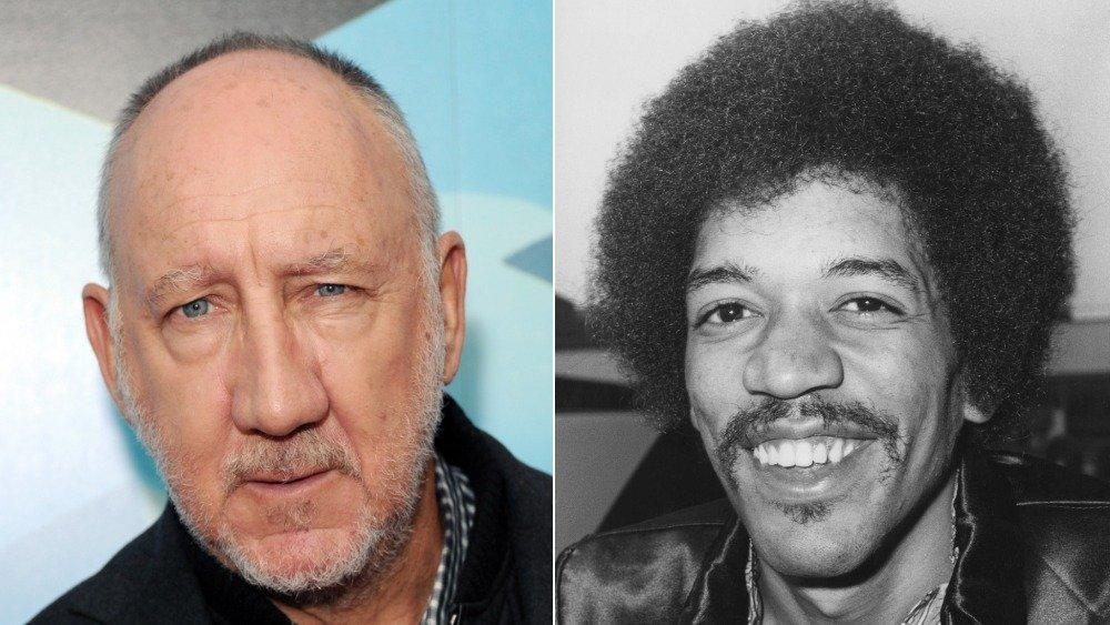 Pete Townshend and Jimi Hendrix