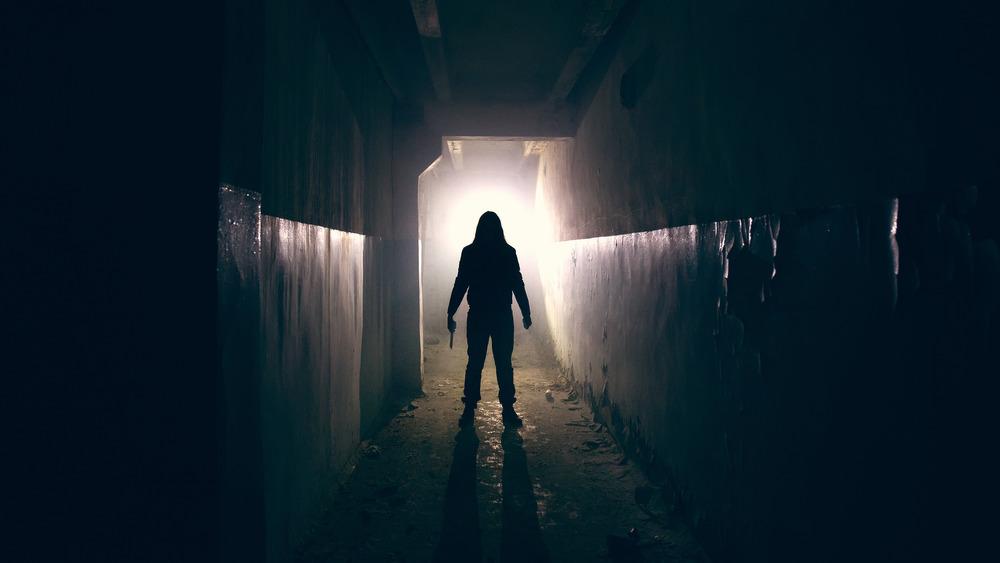 serial killer in dark