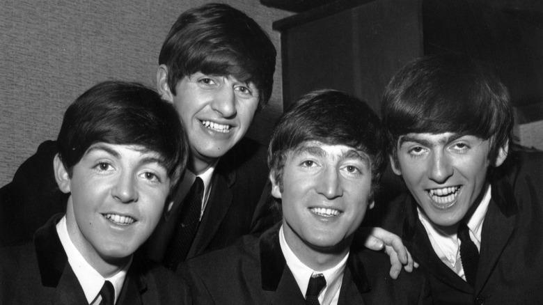 The Beatles 1964 band photo
