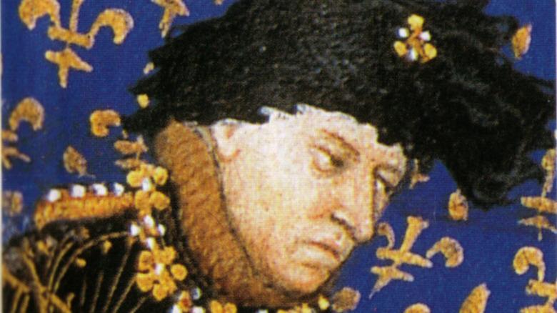Painting of King Charles VI