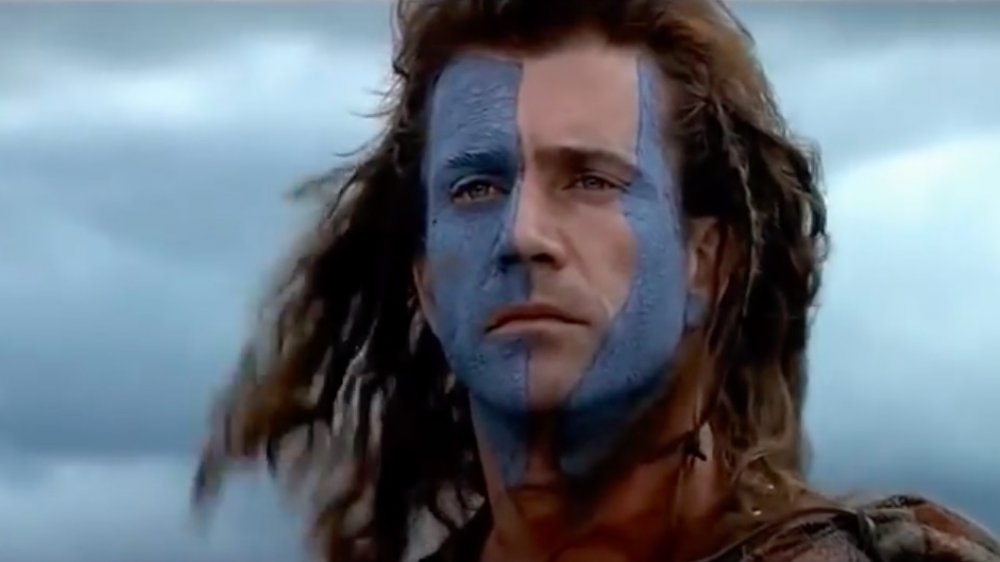 William Wallace in woad