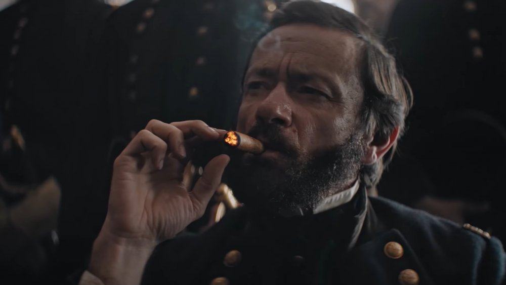 Justin Salinger as Ulysses S. Grant.