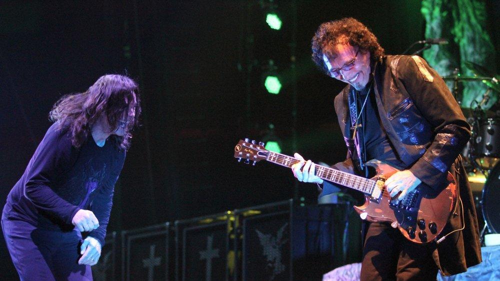 Ozzy Osbourne and Tony Iommi live