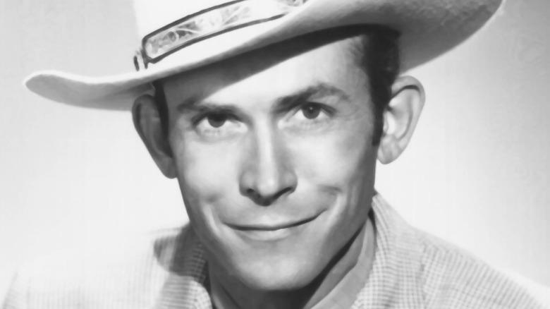 Hank Williams close-up