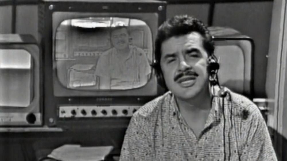 Ernie Kovacs on the air