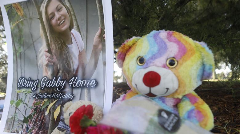 Gabby Petito photo and teddybear