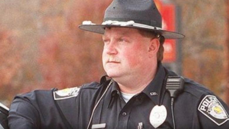 Ричард Джуэлл в полицейской форме
