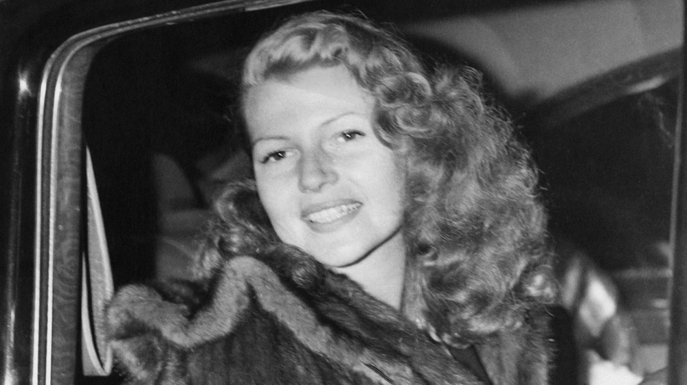 Rita Hayworth smiling