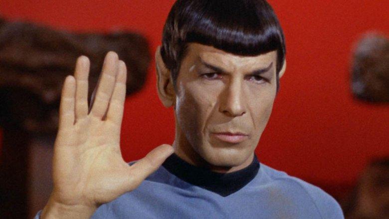 Leonard Nimoy in Star Trek