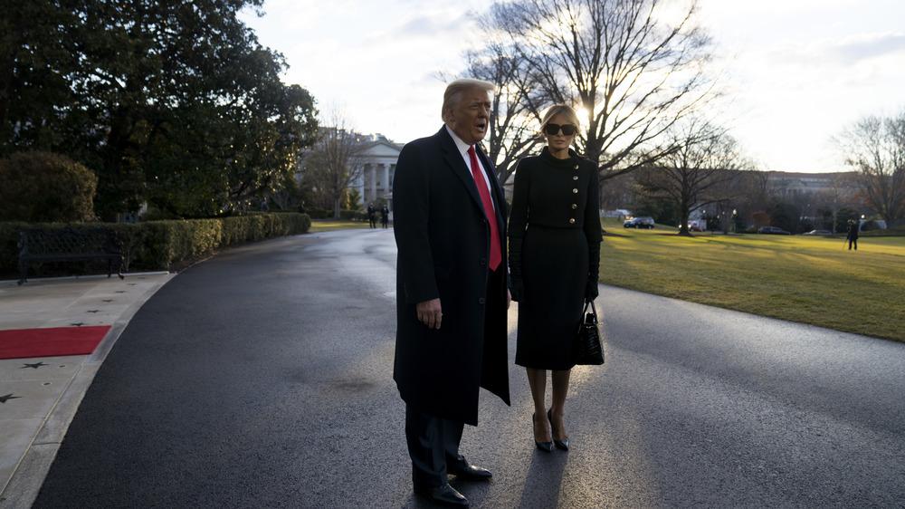Donald Trump with Melania Trump