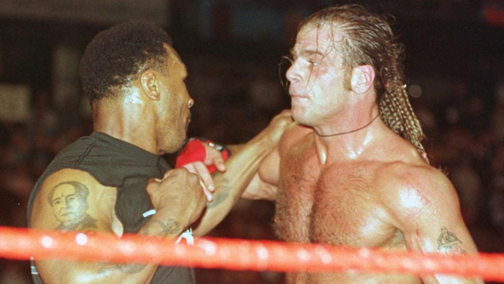 Mike Tyson and Shawn Michaels