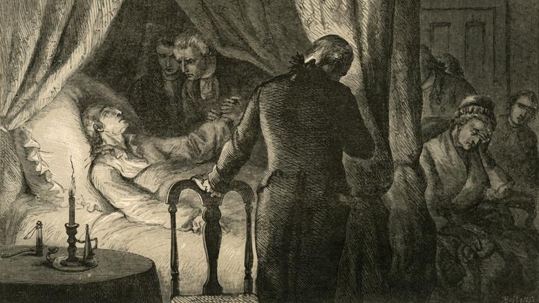 Картина смерти Джорджа Вашингтона