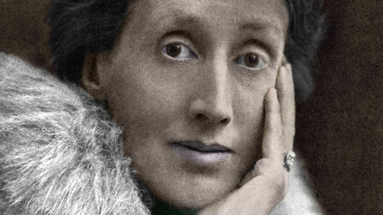 Virginia Woolf colorized