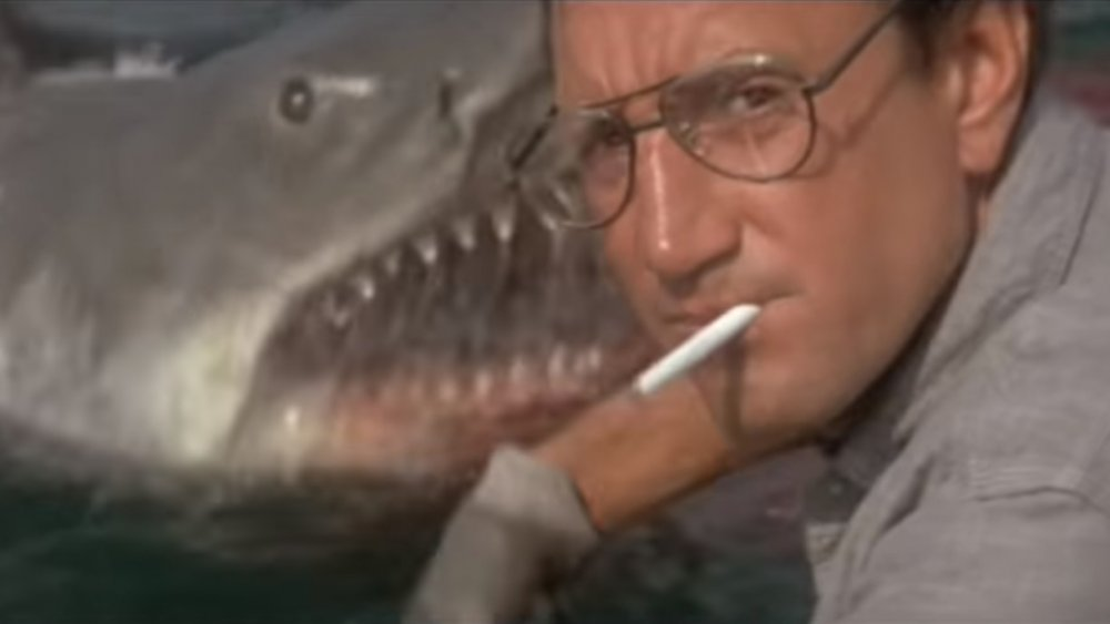Sheriff Brody meets the shark