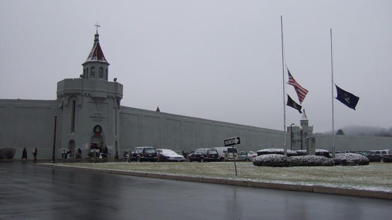 Front of Attica Correctional Facility