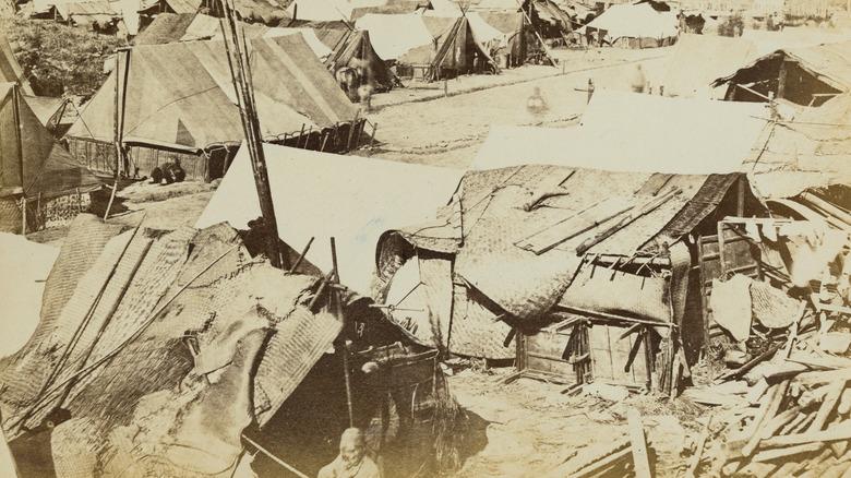 Taiping Rebellion camp circa 1865