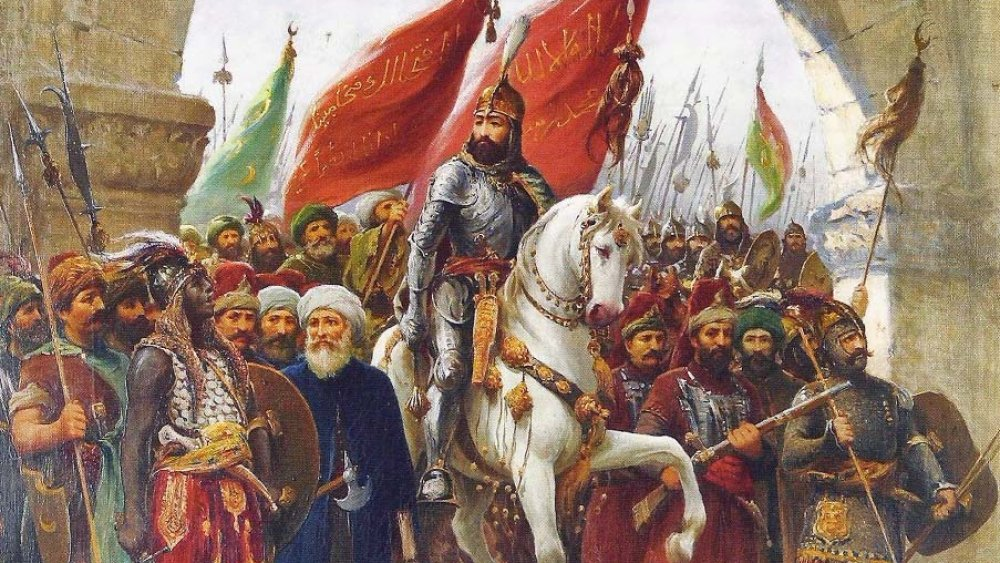 Mehmed II entering Constantinople