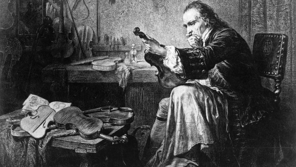 violinmaker Antonio Stradivari, Stradivarius violin