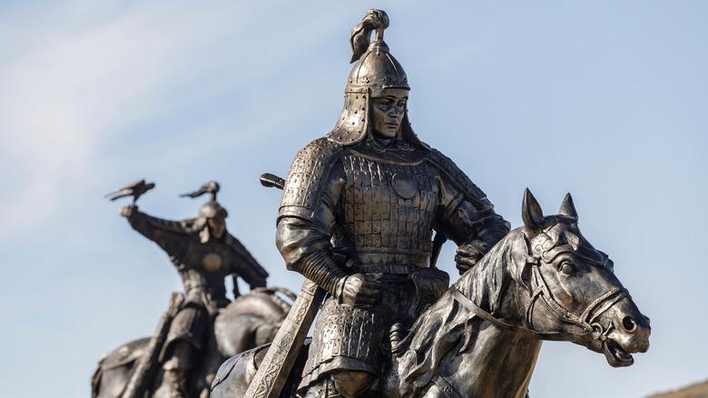 Statue of Genghis Kahn