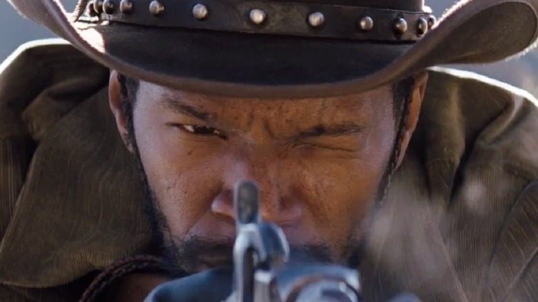 Django Unchained shooting