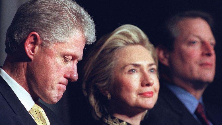 President Bill Clinton, Hillary Clinton, Al Gore, impeachment