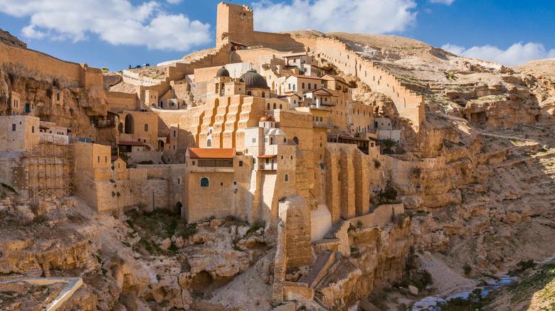 Mar Saba Monastery in Bethlehem