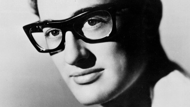 Buddy Holly close-up