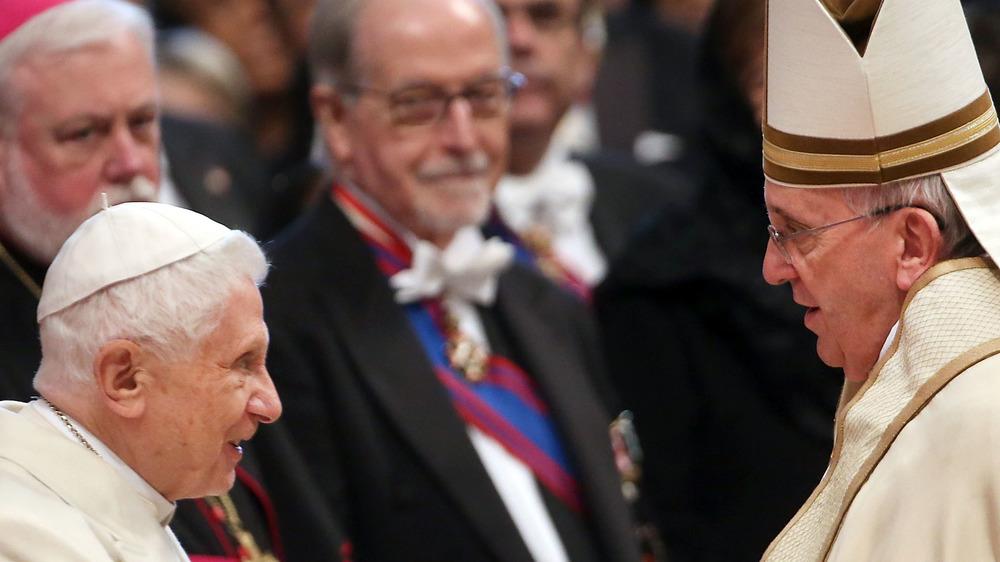 Pope Emeritus Benedict, Pope Francis