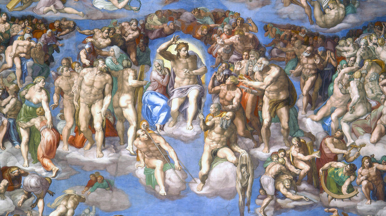 The Last Judgment, by Michelangelo