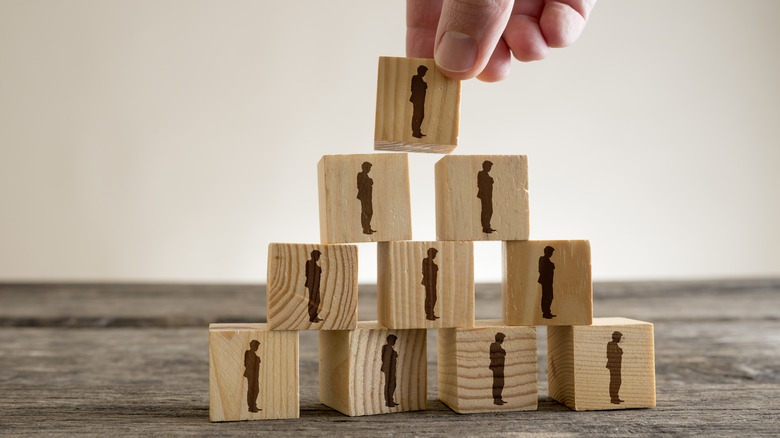 Image of a pyramid scheme