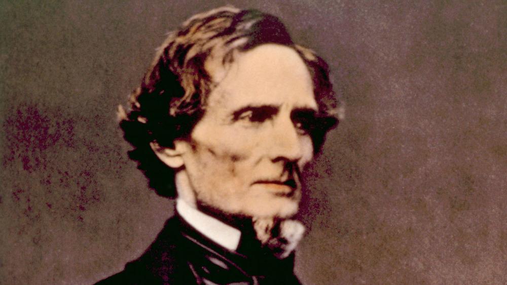 jefferson davis, confederate states of america, president