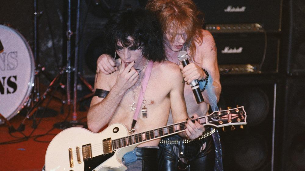 Tracii Guns, Axl Rose, 1984