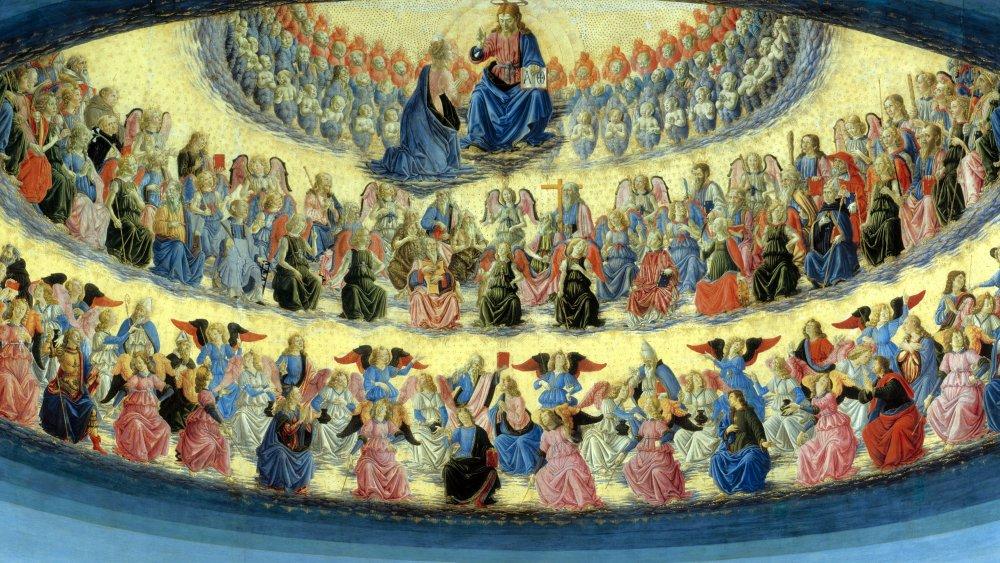 The Assumption of the Virgin, 1476, Francesco Botticini