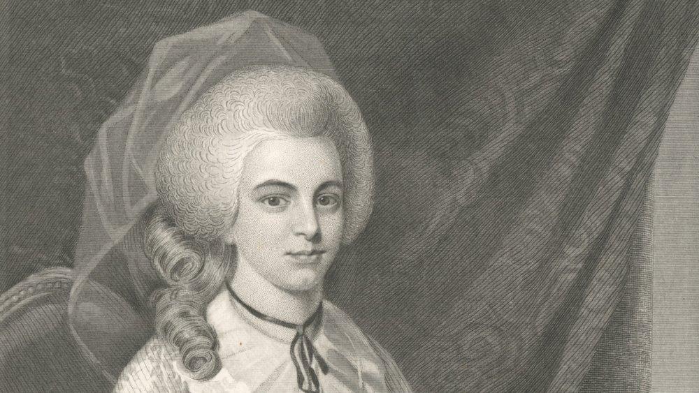 Engraving of Elizabeth Schuyler Hamilton