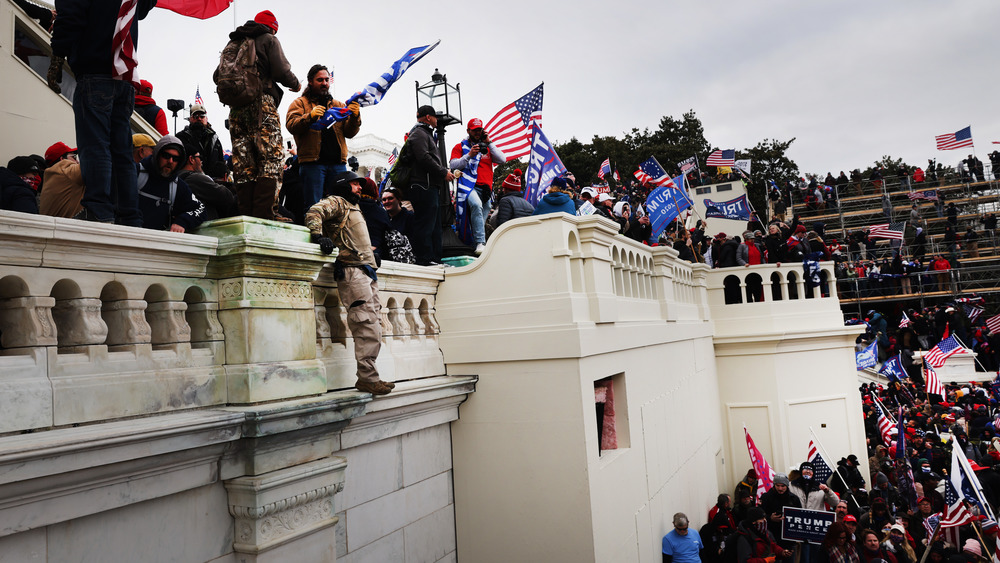 Trump supporters at Capitol insurrection