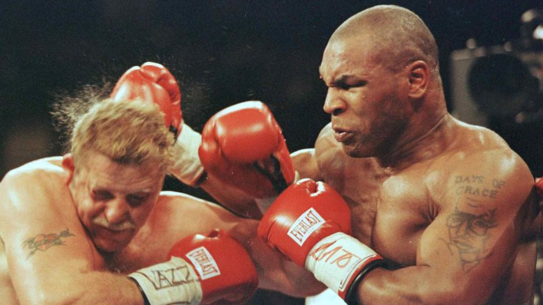 Boxing Punch Mike Tyson