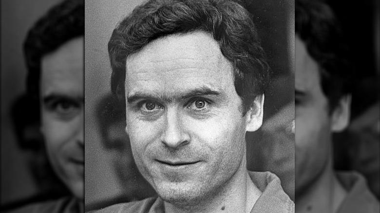 Ted Bundy grinning