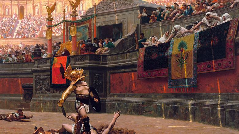 gladiator victorious