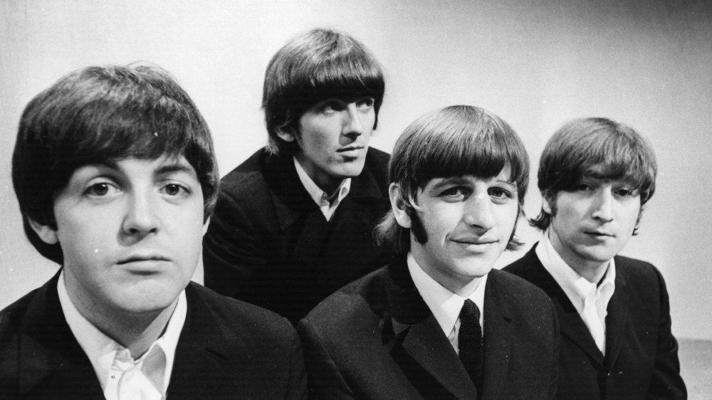 The Beatles: Paul McCartney, George Harrison, Ringo Starr, and John Lennon