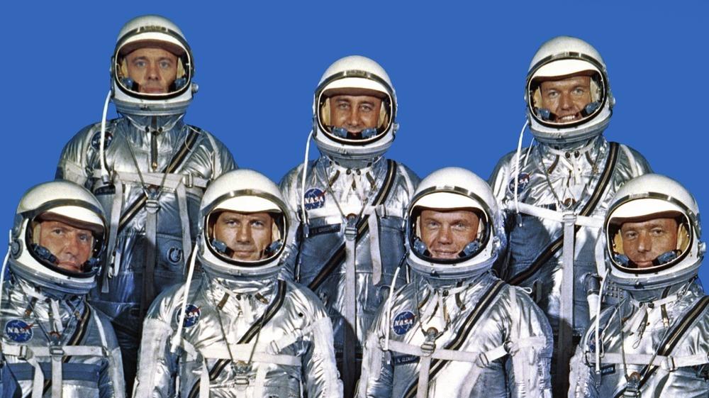 group portrait of astronauts