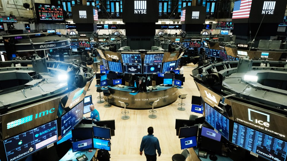 The NYSE trading floor