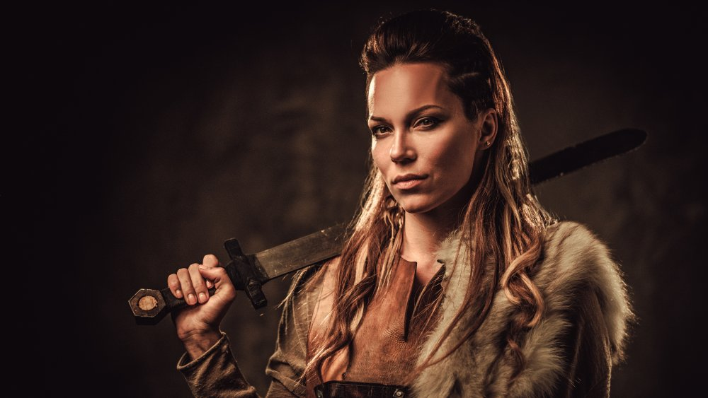 A Viking women